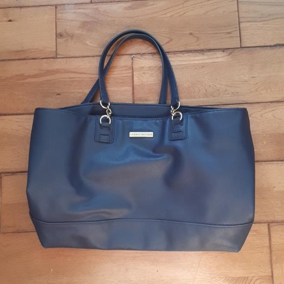 Navy Blue TOMMY HILFIGER bag